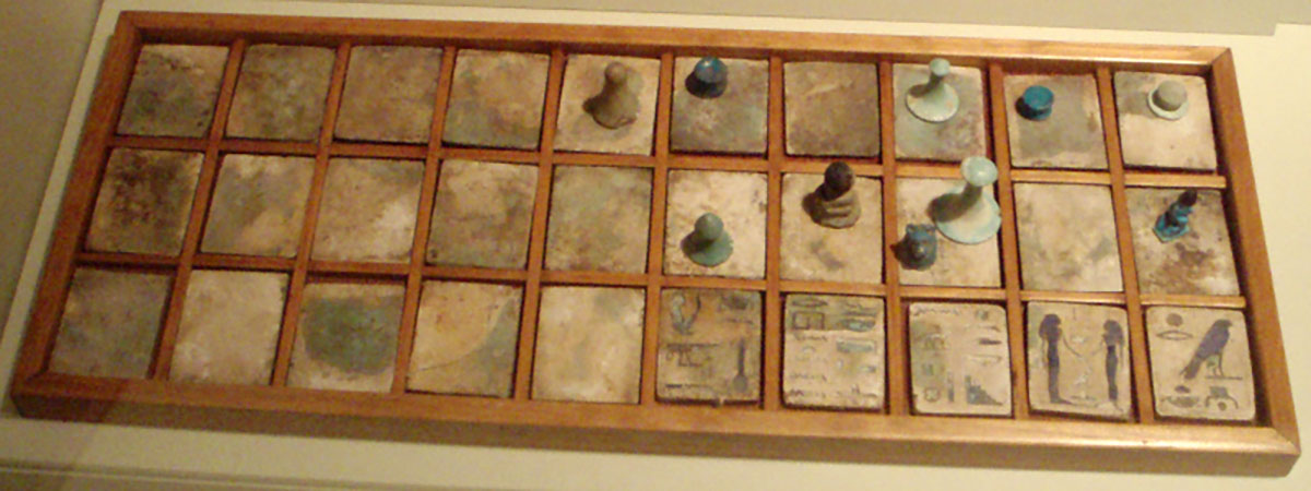 Senet Gameboard