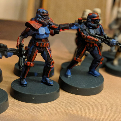 miniature troopers