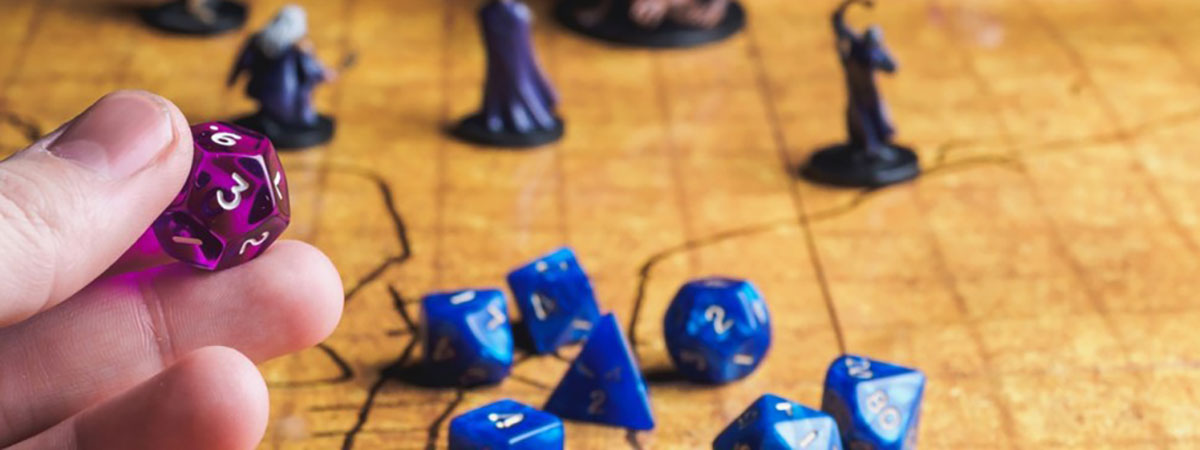 playing dungeons and dragon