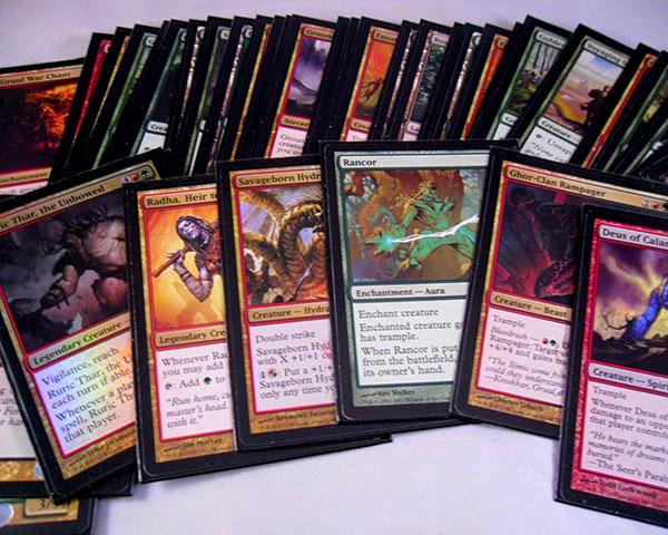 trading card set