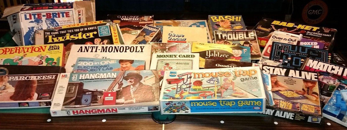vintage board games collection